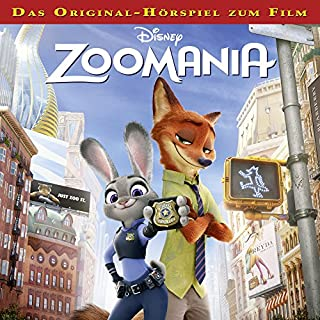 Zoomania (Das Original-Hörspiel zum Film) Titelbild