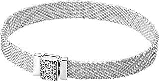 Pandora Reflexions - Pulsera de plata de ley (19 cm)