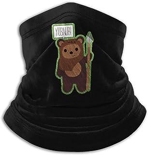 JFK BORN Cute Ewok! YUBNUB!! Unisex Seamless Bandana Neck Gaiter Tube Mask Headwear, Motorcycle Face Mask for Women Men Face Scarf
