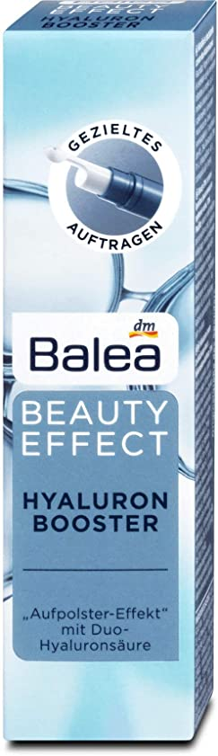 高くヘクタール技術的なBalea Serum Beauty Effect Hyaluronic Booster, 10 m