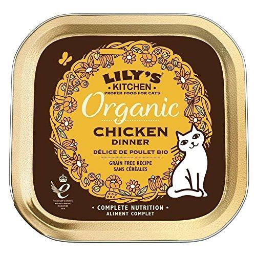 Lily's Kitchen - Barquette Délice de Poulet Bio pour Chats - 85g