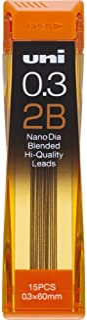 Uni NanoDia Mechanical Pencil 0.3 mm Lead, 2B (4902778030615)