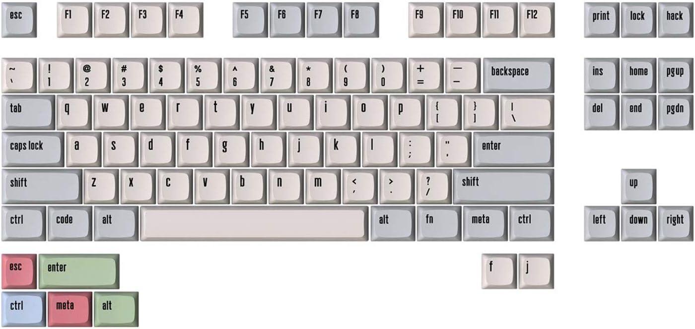 Drop + Matt3o MT3 /dev/tty Dye Sub PBT Keycap Set - TKL Kit