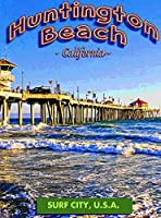 ERZAN知育玩具200ピースパズルハンチントンビーチ埠頭サーフカリフォルニア家の装飾
