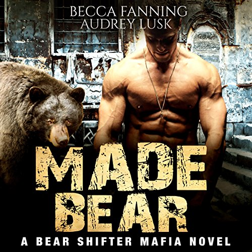 Made Bear audiobook cover art