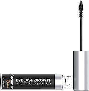 Eyelash Growth - Organic Castor Oil - Grow Longer Lashes & Fuller Eyebrows - Use As An Eyelash Serum - A Na...