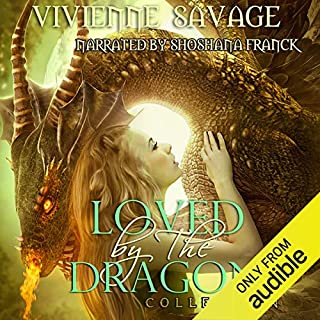 Loved by the Dragon Collection audiobook cover art