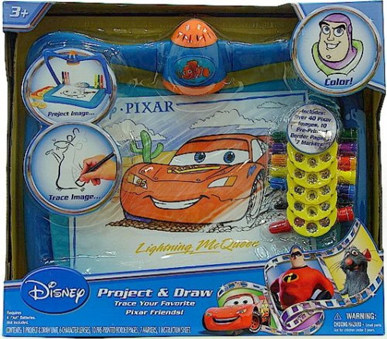 Disney Pixar Project & And Draw Art Desk Toy