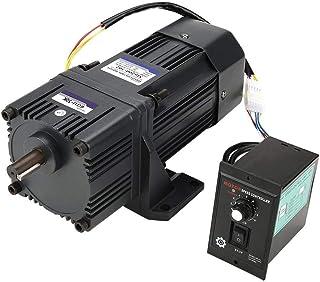 KEKEYANG Reducción de Motor de Ajuste de Velocidad del Motor, Motor Reducción CW/CCW con Caja de Cambios gobernador CA 220V 200W M6200-502 (50K) Industrial