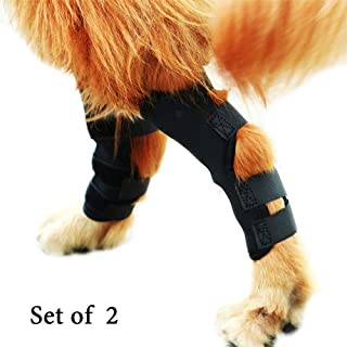 Spark·M-1 Pair Dog Leg Brace,Dog Hock (Ankle) Support,Heals and Prevents Injuries and Sprains,Helps with Loss of Stability Caused by Arthritis.2019 Upgrade