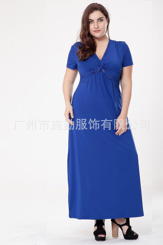 SFSYDDYSummer Spring Breathable Short Sleeved Dress Milk Silk XXX V Collar Short Sleeved Dress Dress.