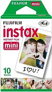 FUJIFILM Instax Mini (Film) Plain Single Pack for Instax Mini 7, 7s, 8, 25, 50