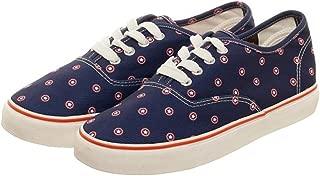 Marvel Captain America Micro Prep Navy Unisex Lo Pro Shoes