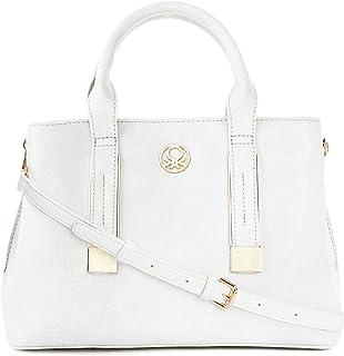 United Colors of Benetton Women's Handbag Bag (White)