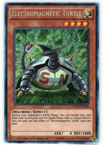 Yu-Gi-Oh! - Electromagnetic Turtle (YGLD-ENA00) - Yugi's Legendary Decks - 1st Edition - Secret Rare by Yu-Gi-Oh!