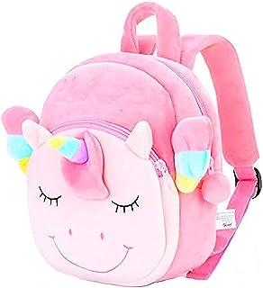 Plush Animal Backpack for Toddler Girls Boys