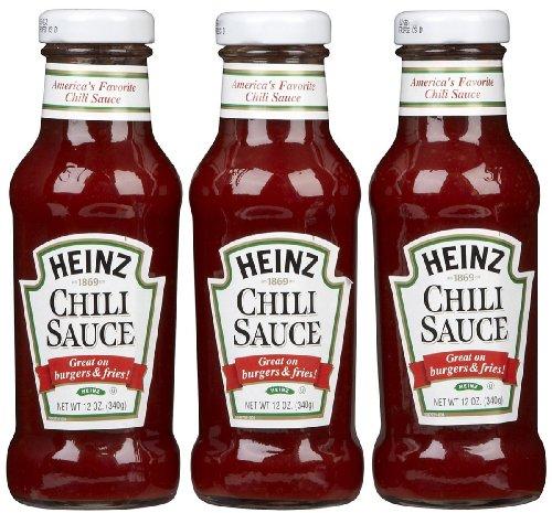 Heinz Chili Sauce - 12 oz - 3 pk