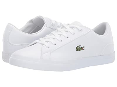 Lacoste Kids Lerond 119 5 (Little Kid/Big Kid) (White/White) Kid