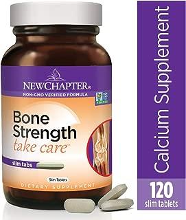 海外直送品 New Chapter Bone Strength Take Care, 120 Tabs