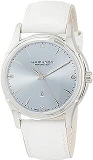 Hamilton Jazzmaster Automatic Diamond Silver Dial Ladies Watch H32315842