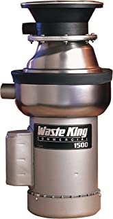 Waste King 1500-1 1.5 HP Commercial Food Waste Disposer