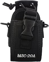 AOER Multi-Function Universal Fabric Pouch Case Holder Case MSC-20A for GPS Two Way Radio Walkie Talkie Motorola Kenwood Midland ICOM Yaesu
