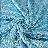 YALINA Cubierta De Mesa De Fiesta Elegante Cubierta De Mantel De Lentejuelas Brillante Mantel Redondo Decoración De Fiesta De Boda Círculo 100cm A15