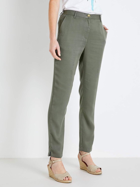 Balsamik - Pantalon Fluide - Femme Kaki