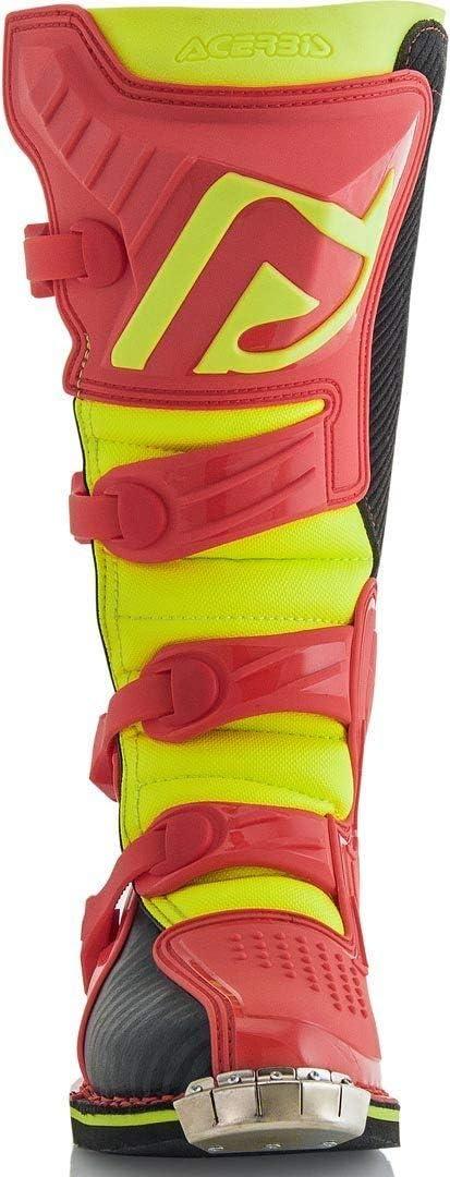 Botas de motocross color gris y amarillo Acerbis X-Pro V