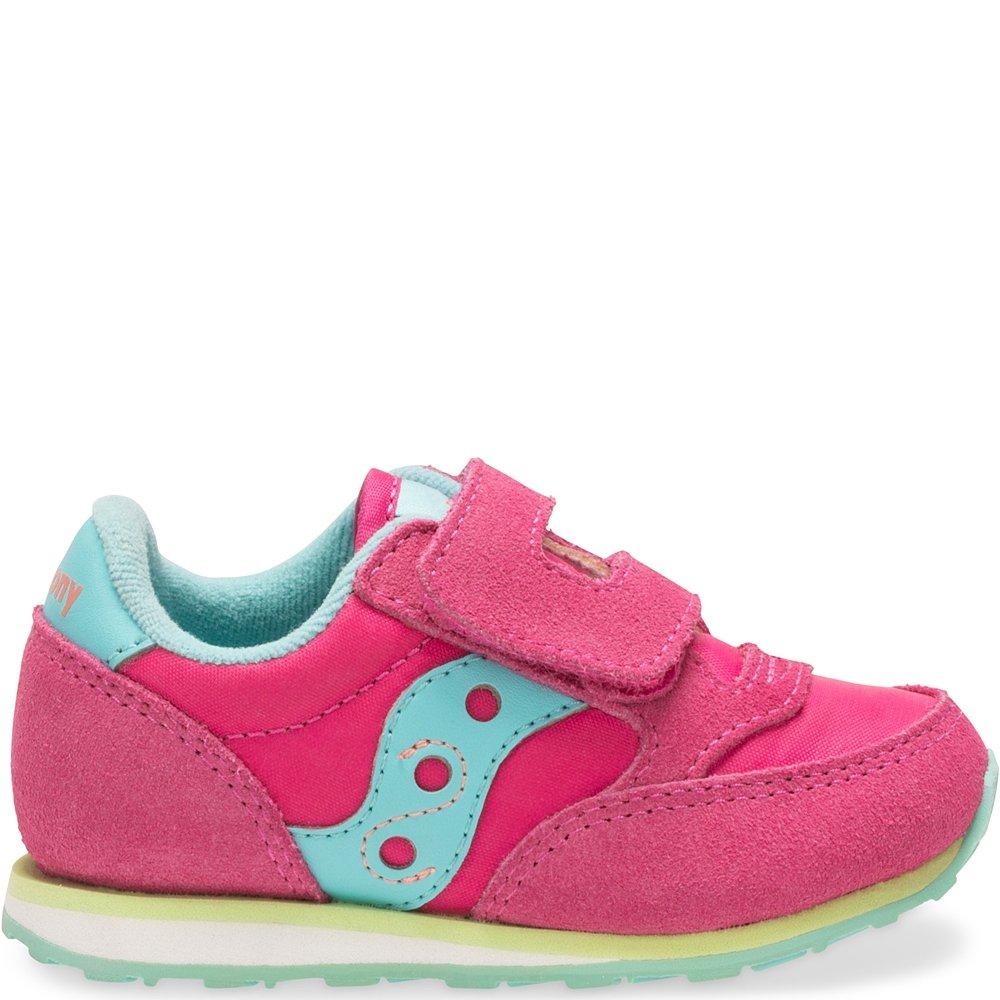 Saucony Kids' Baby Jazz H\u0026l-K Sneaker