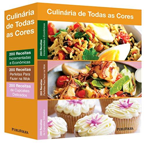 Incrementadas e Econômicas + Perfeitas Para Fazer na Wok + Cupcakes Delicados - Caixa Culinária de Todas as Cores (Em Portuguese do Brasil)