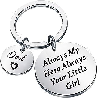 Clip de dinero para hombre para papá siempre mi héroe siempre tu pequeña niña grabado clip de dinero regalo para papá padr...