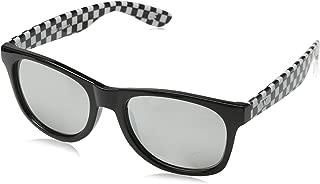 Vans 范斯男式 SPICOLI 4 SHADES 太阳镜,黑色格子 50