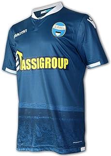 Macron SPAL Fußball Trikot blau S.P.A.L.Ferrara 3rd Jersey M18 Alternativ Shirt