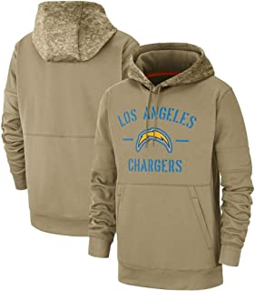 Los Angeles Chargers 2019 Salute to Service Therma Pullover Hoodie