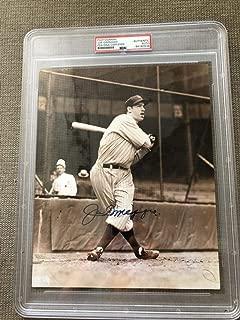 Joe DiMaggio New York Yankees 8x10 Photo Photograph Picture Signed Autographed Autograph Auto PSA/DNA COA Baseball MLB