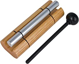 Woodstock Chimes - The ORIGINAL Guaranteed Musically Tuned Chime, Zenergy  - Solo, Silver