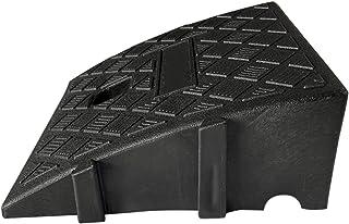 Topaty Rampas de freio de plástico portátil e leve, kit de rampa de soleira de plástico resistente para garagem, doca de c...