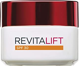LOréal Paris Dermo Expertise - Revitalift Crema Hidratante de día anti-arrugas con Pro-Retinol y protección solar SPF30 ...