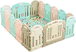 Baby playpen-SYY Playpens  nbsp for  nbsp baby toddlers Children Easy Install Save-space Material Safety Sizes Choose  Size 14 2