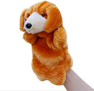 Dog Hand Puppets Puppy Plush Animal Toys for Imaginative Pretend Play Stocking Storytelling