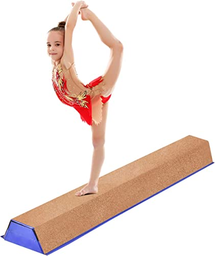 high quality Giantex 4 Ft Floor Balance Beam outlet sale Gymnastics Equipment for lowest Beginners & Professional Gymnasts Skill Performance Training Easy Storage online