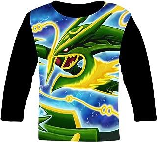 Ray-Qua-Za Kids T-Shirts Long Sleeve Tees Fashion Tops for Boys/Girls