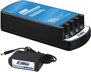 E-flite Celectra 4-Port Charger with AC Adapter Combo, EFLC1004AC