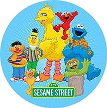 Sesame Street Big Bird Elmo Edible Image Photo Cake Topper Sheet Birthday - 8