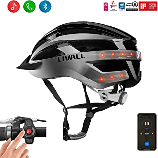 LIVALL MT1 Smart Helmet, Cycling Mountain Bluetooth Helmet, Built-in Mic, Bluetooth Speakers, Wireless Turn Signals Tail Lights, SOS Alert, Wireless Bike Helmet,Safe & Comfortable