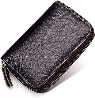 Porta carte di credito in pelle PU,MoreChioce Porta carte di credito da uomo Porta carte di credito Porta carte di credito...