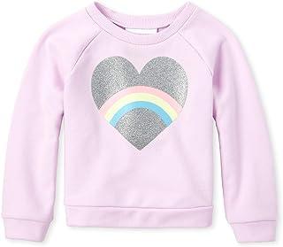 The Children's Place Baby Girls' Graphic Fleece Pull Over Sweatshirt