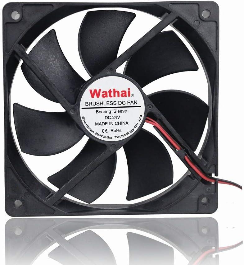Wathai 120x120x25mm 120mm 24v DC Brushless Fan Cooling Spasm price Case Ranking TOP16