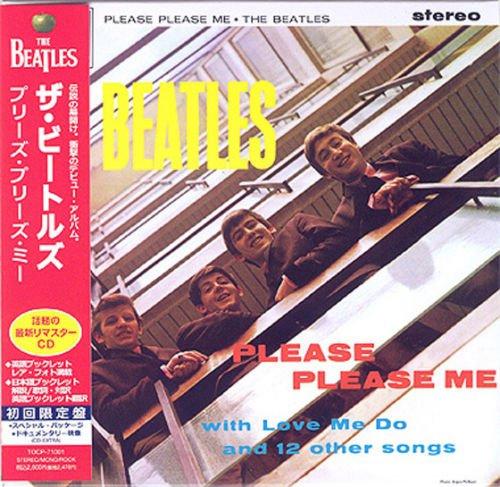 BEATLES PLEASE PLEASE ME REMASTERED CD MINI LP OBI